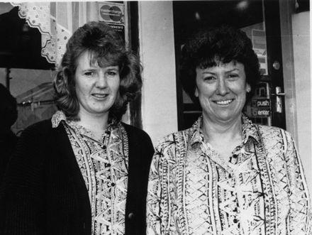 Lorraine O'Dea and Anna Burling