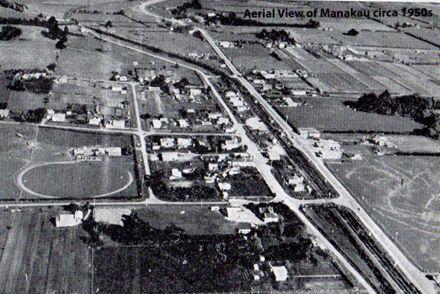 Aerial View of Manakau