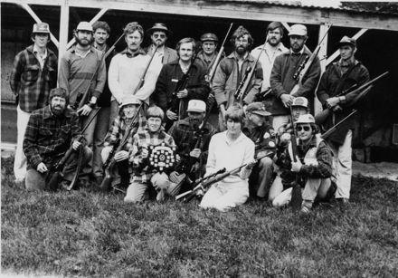 Members of Rifle Club, c.1960's