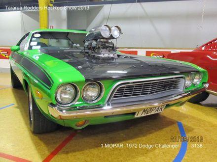 3138 1 MOPAR 1972 Dodge Challenger