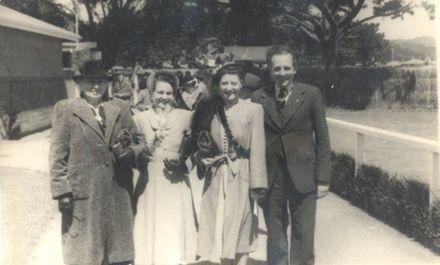 Taken Trentham races 1949.