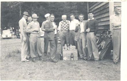 Golf Club's First Closing Day, 1949