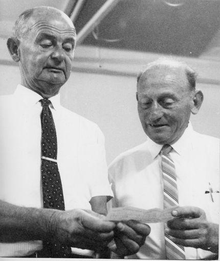 Mr Haley (C.C.S.) & Mr Davis, 1969