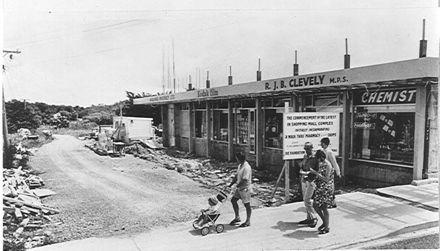 First shop in Waikanae Shopping Mall, 1969