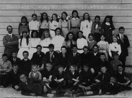 Foxton School Classes 1912