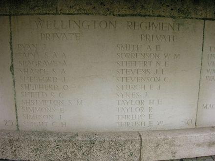Stanley Arthur Ambrose SAINT memorial