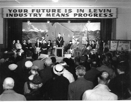 Levin's Industry Fair, Memorial Hall, 1957