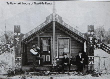 Te Uawhaki, house of Ngati-Te Rangi