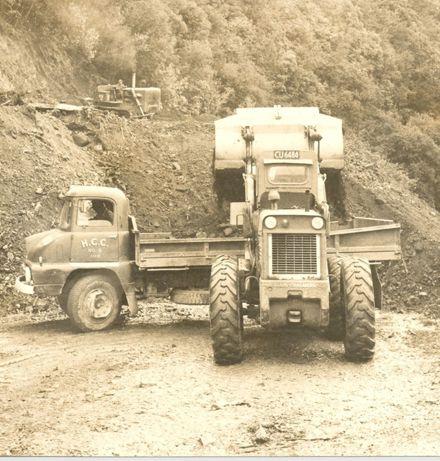 Gladstone Road widening, 1969