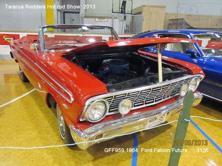 3136  GFF959    1964  Ford Falcon Futura