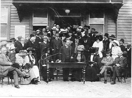 Weraroa - Post Office Opening