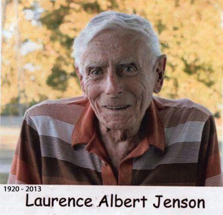 Laurence Albert Jenson 1920-2013