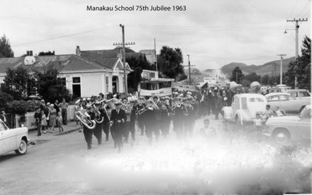 Manakau School 75th Jubilee 1963 y