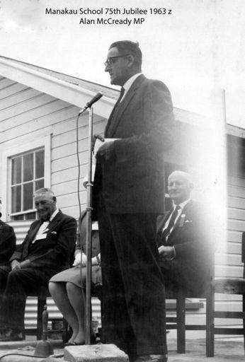Manakau School 75th Jubilee 1963 z Alan Mcready mp
