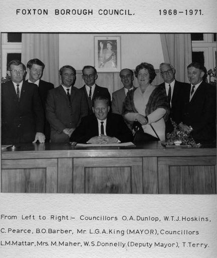 Foxton BoroughCouncil 1968 - 1971