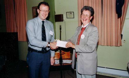 Foxton Rotary Club - Mr Davies & Ms Paddison, 1980's-90's