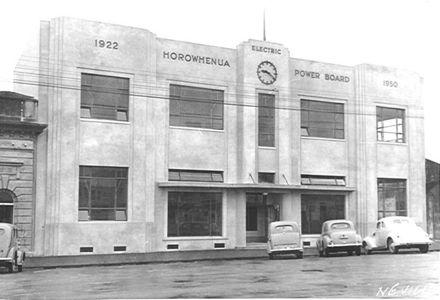 Horowhenua Electric Power Board, Levin