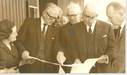 Members, P.N. Hospital Board at Levin, 1969