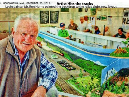 Artist Hits the tracks