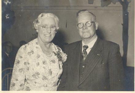 Mr & Mrs A.W. Parton (Levin Mayor 1950-53)