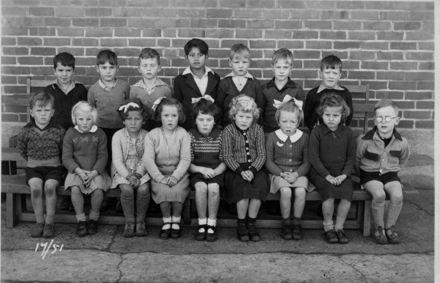 Foxton School Class 17 (?), 1951