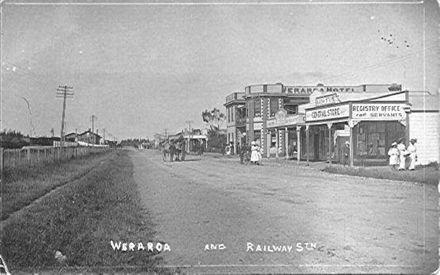 Weraroa & Railway Station