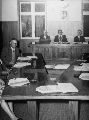 Foxton Borough Council, 1962