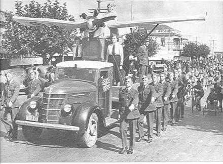 Queen Carnival Parade, Levin, 1941