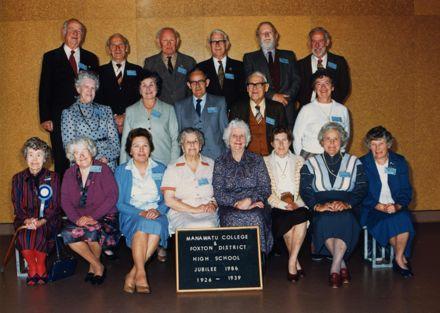 Foxton  School Reunion 1986