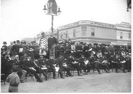 Commemoration Service Edward VII, 1910