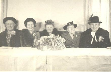 Mrs Parton, Mrs Burdekin, Miss Bowen, Mrs Richard Prouse, Mrs Lett.