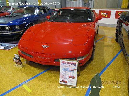 3134 2003 Chevrolet Corvette 03Z06