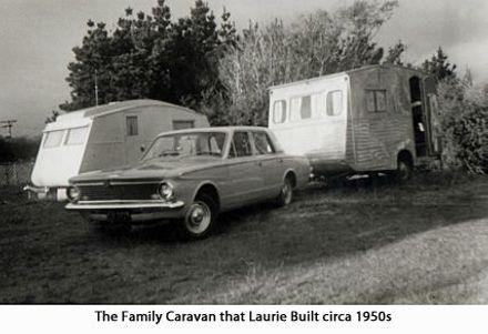 The Family Caravan that Laurie built