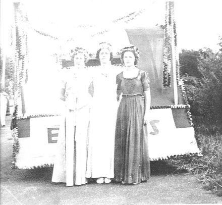 Business Queen at Queen Carnival, 1941