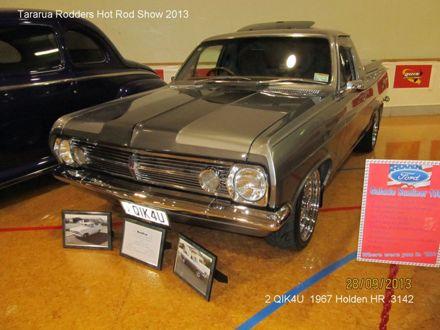 3142 2QIK4U 1967 Holden HR