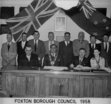 Foxton Borough Council 1958