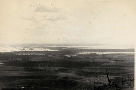 Manawatu River in Flood, 1901.