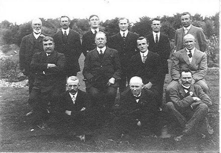 Boys Training Farm Staff, 1910