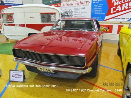 3148 FPS407  1967 Chevrolet Camaro
