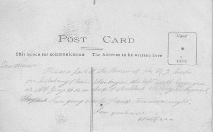 Review of N.Z. Troops, Salisbury plain.