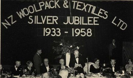 Official Guests at Silver Jubilee Dinner