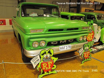 3163 HAF378 1966 GMC PK truck