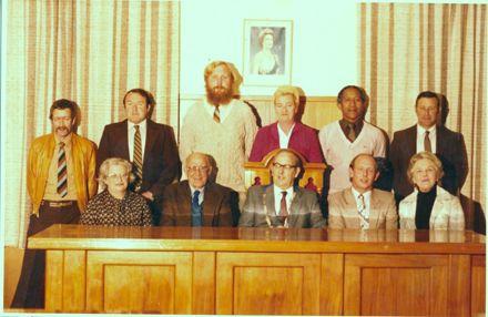 Foxton Borough Councillors, 1980-85