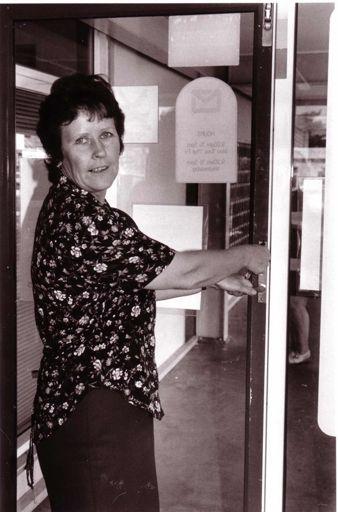Lynne Solomon - Final Closing of Foxton Post Office, 1980's-90's