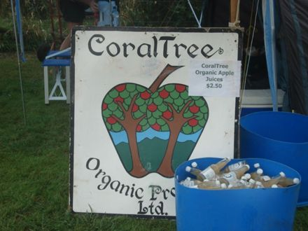 Coral Tree stall