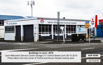Levin Mitsubishi Service Centre Garage 311 Oxford Street Levin 28-10 2018