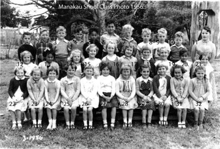 Manakau School Class 1956 Primmers