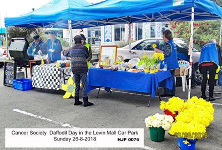 Horowhenua Cancer society Daffodil day 0076