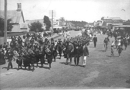 Queen Carnival Parade, Main Street, Foxton.