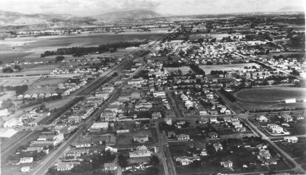 Levin from the Air - looking Southeast